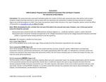 2019/2020 SOM Biomedical Sciences; University Science Teaching Graduate Certificate Plan/Report