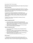 2019/2020 CAS Ethnology PhD Plan
