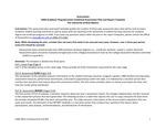 2019/2020 CAS Biology MS II Plan/Report