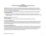 2019/2020 CAS Chemistry BA Plan/Report