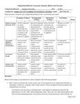 2019-2020 CFA Maturity Rubric and Narrative