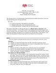 2021/22 Advising Assessment Plan
