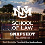 UNM Law Snapshot, Fall/Winter 2019