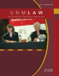 UNM Law: The Magazine for Alumni and Friends, Fall/Winter 2008