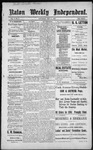 Raton Weekly Independent, 12-10-1887 by Independent Pub. Co.