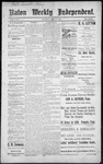 Raton Weekly Independent, 12-17-1887 by Independent Pub. Co.