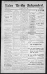 Raton Weekly Independent, 12-24-1887
