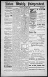 Raton Weekly Independent, 01-14-1888 by Independent Pub. Co.