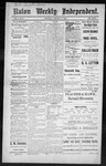 Raton Weekly Independent, 01-21-1888