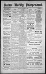 Raton Weekly Independent, 01-28-1888