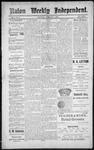 Raton Weekly Independent, 02-04-1888