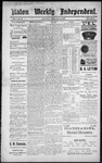 Raton Weekly Independent, 02-18-1888