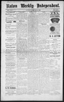 Raton Weekly Independent, 02-25-1888