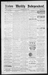 Raton Weekly Independent, 04-07-1888