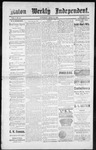 Raton Weekly Independent, 04-21-1888