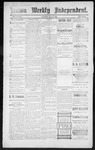 Raton Weekly Independent, 05-19-1888