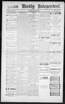Raton Weekly Independent, 06-02-1888