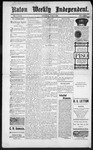 Raton Weekly Independent, 06-09-1888