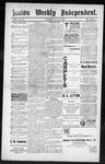 Raton Weekly Independent, 08-04-1888 by Independent Pub. Co.