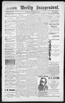Raton Weekly Independent, 09-01-1888
