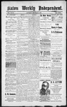 Raton Weekly Independent, 09-08-1888