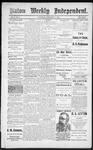 Raton Weekly Independent, 09-15-1888