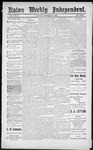 Raton Weekly Independent, 09-29-1888