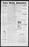 Raton Weekly Independent, 10-20-1888