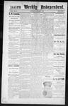 Raton Weekly Independent, 10-27-1888