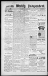 Raton Weekly Independent, 11-03-1888 by Independent Pub. Co.