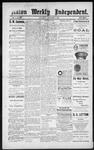 Raton Weekly Independent, 11-03-1888
