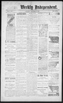 Raton Weekly Independent, 11-10-1888 by Independent Pub. Co.
