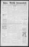 Raton Weekly Independent, 11-17-1888