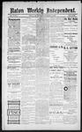 Raton Weekly Independent, 11-24-1888
