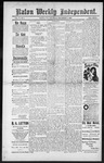 Raton Weekly Independent, 12-01-1888 by Independent Pub. Co.