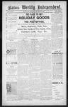 Raton Weekly Independent, 12-08-1888