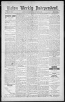 Raton Weekly Independent, 01-05-1889