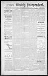 Raton Weekly Independent, 02-02-1889