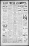 Raton Weekly Independent, 02-16-1889