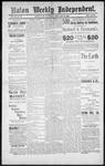 Raton Weekly Independent, 02-23-1889