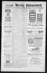 Raton Weekly Independent, 03-23-1889 by Independent Pub. Co.