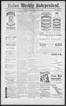 Raton Weekly Independent, 03-30-1889