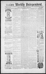 Raton Weekly Independent, 04-06-1889