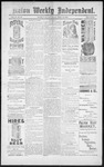 Raton Weekly Independent, 04-13-1889 by Independent Pub. Co.