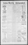 Raton Weekly Independent, 04-20-1889