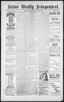 Raton Weekly Independent, 04-27-1889 by Independent Pub. Co.