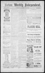 Raton Weekly Independent, 05-11-1889