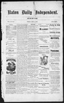 Raton Daily Independent, 07-04-1884