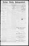 Raton Daily Independent, 07-24-1885