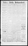 Raton Daily Independent, 11-01-1886